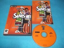 THE SIMS 2 OPEN FOR BUSINESS EXPANSION PACK PC DVD-ROM V.G.C. FAST POST COMPLETE
