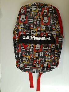 DISNEYLAND, DISNEY WORLD PARKS, MICKEY MOUSE BACKPACK, BOOKBAG New with Tags
