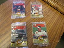 Dale Earnhardt Metallic Impressions #2,#3,#4,and #5 Racing Cards / New Old Stock