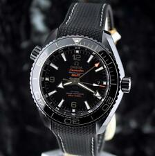 new OMEGA Seamaster DEEP BLACK PLANET OCEAN GMT 600M Ceramic 215.92.46.22.01.001