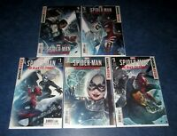 SPIDER-MAN BLACK CAT STRIKES #1 2 3 4 5 complete 1st print set MARVEL COMIC 2020