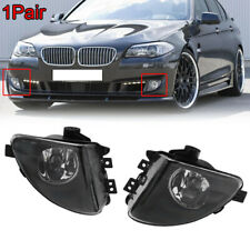 1 PAIR Front Fog Light Lamps LH+RH For BMW 5-Series F10 535i 550i 528i 2011-2013