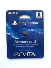 Official Sony Playstation Vita 8GB Memory Card PSVita **BRAND NEW & SEALED**