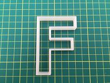 Alphabet Letter F cookie cutter