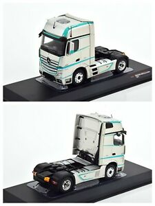 1/43 IXO Truck Mercedes-Benz Actros MP4 Silver New IN Box Free Shipping Home