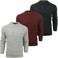Mens Turtle Neck Knit Jumper by Dissident 'Mino' Wool Mix