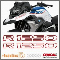 2pcs R1250 Rosso BMW R 1250 GS 2019 HP Motorrad ADESIVI STICKERS Adventure