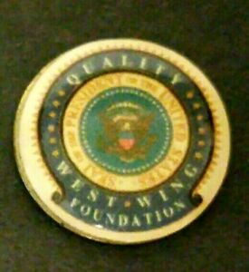 West Wing Foundation Golf Ball Marker - New