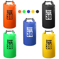 Waterproof Swimming Float Kayaking Dift Dry Bag PVC Outdoor Sports 10/20/30L US