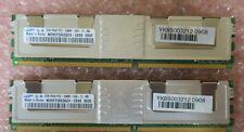 Samsung M395T5663QZ4-CE66 4GB (2GBx2) 2Rx8 PC2-5300F DDR2 ECC RAM Memory Module