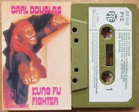 CARL DOUGLAS - KUNG FU FIGHTER (PY ZCP 18450) 1974 UK CASSETTE TAPE FUNK SOUL