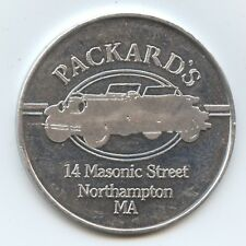 Trade Token $1 Packards Northampton, Ma (#8869) The Other Bar. 39Mm.