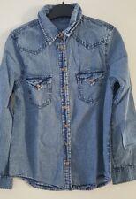 chemise en jeans taille s mango