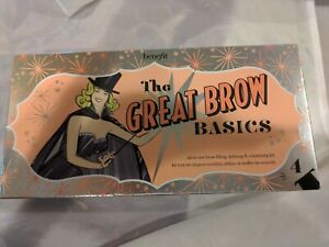 BENEFIT CosmeticsTHE GREAT BROW BASICS IN SHADE 4 BRAND NEW 3 pc set