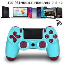 Wireless Bluetooth Gamepad Controller for Dualshock PS4 PlayStation 4 Berry Blue