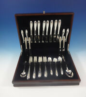 Lyric by Gorham Sterling Silver Flatware Service For 8 Set 43 Pieces