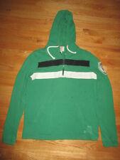'47 Brand BOSTON CELTICS Leprechaun (SM) Hooded Sweatshirt Stitched Patch