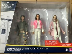 Doctor Who BBC Companions Of The Fourth Doctor Collector Figure Set