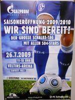 Offizielles Plakat + 26.07.2009 + FC Schalke 04 Saisoneröffnung Schalke-Tag  #10