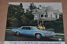 1976 Oldsmobile DELTA 88 advertisement, OLDSMOBILE Delta 88, Olds Eighty-Eight