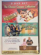 Classic Cinema Collection: Houdini/Money from Home/Papas Delicate Condition-NEW
