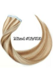 10A RUSSIAN Double drawn Tape In Human Hair #12/613 20pcs Straight 20' 50g