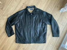 POLO Ralph Lauren leather jacket men,s size xxl