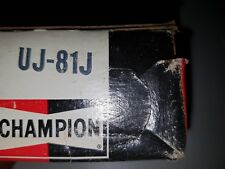 Champion Spark Plugs UJ81J NOS UJ-81J set of 4 Rare