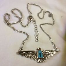 "THUNDERBIRD EAGLE NECKLACE - 18"" chain 2"" extender not worn - boxed"