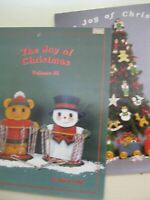 JOY of CHRISTMAS 1985 OR 1987 Vol. 3 decorative tole painting BOOK by MARIE COLE