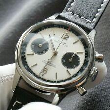 Sugess Panda Chronograph Watch St1901 Seagull Movement Sapphire Glass