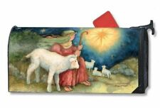 Magnet Works Christmas Shepherd Boy Magnetic Mailbox Wrap Cover