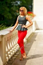New Ladies Leggings Full Length High Quality Cotton Lycra Comfortable Variations