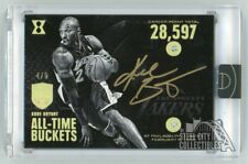 Kobe Bryant 2017-18 Panini Eminence All-Time Buckets Double Diamond Auto 4/5