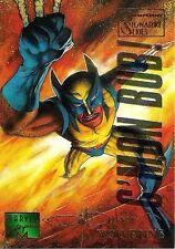 WOLVERINE - 1995 Marvel Masterpieces Parallel EMOTION card no. 112  RARE