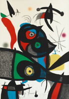 Joan Miro Untitled Giclee Canvas Print Paintings Poster Reproduction