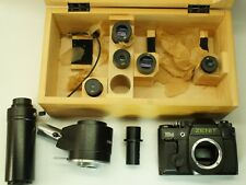 🔥Lomo microscope Photo attachment Mfn-10 ,Eyepiece:1,7x;3x;5x;8x;1 0x; Zenit 15M