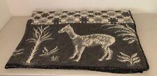 New listing Santa Catalina Alpaca Wool Blanket 80� x 78� Reversible