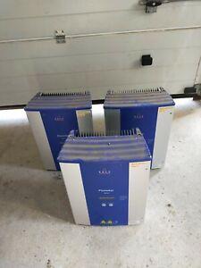 3 x Kaco Powador Wechselrichter, davon einer störanfällig