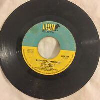We The People Making My Daydream Real Whatcha Done LION northern modern soul 45