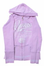 GUESS JEANS Girls Hoodie Jacket Size 8 Small Pink Cotton