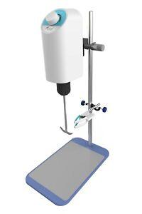 Electric Overhead Stirrer Lab Mixer 10L Overhead Mixer 100-2000 rpm Adjustable