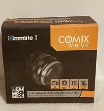 Ommlite Comix CM-EF-MFT Electronic Lens Mount Adapter Micro Four Thirds Olympus
