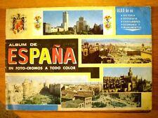 'ÁLBUM DE ESPAÑA EN FOTO-CROMOS' (Coled, 1967) * con 111 cromos
