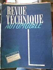 revue technique automobile mai 1953 simca9 sport tracteur vierzon