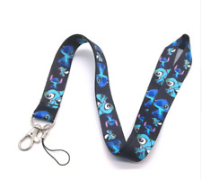 New black lot Cartoon Popular stitch Neck Lanyard Key Chains Gifts Party Favors