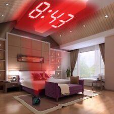 XNCH LCD De Projection LED Temps D'affichage Numérique Alarme Horloge Parlante