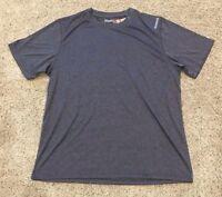 NWT Men's Dark Gray Reebok Short Sleeve Active Sport Top Medium