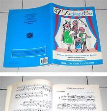 Spartiti 47 ZECCHINO D'ORO 2004 Piccolo Coro dell'Antoniano Songbook Spartito