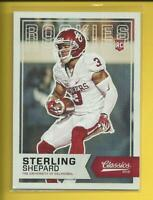 Sterling Shepard RC 2016 Panini Classics Rookie Card # 251 New York Giants NFL